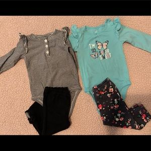 2 outfits from Carter's